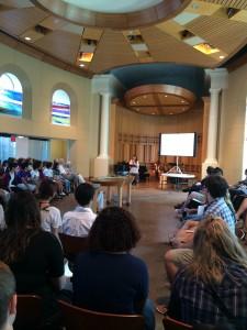 ウェスタン神学校日本語礼拝 ホープカレッジ学生による証し
