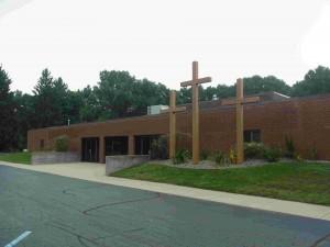 カルバリーリフォームド教会 3本の十字架