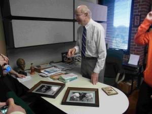 ヘッセリンク先生 先生が撮ったバルトとブルンナーの写真 大木先生宅でも見ました